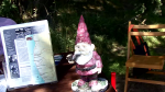 Beach clean-up was highlighted by the discovery of a Lawn Gnome.