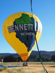 Calistoga balloon ride