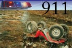 atv upside down 911