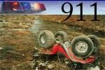atv upside down 911