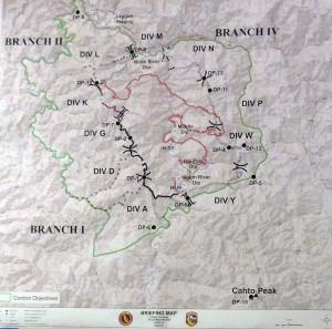 Lightning Complex Fire Map