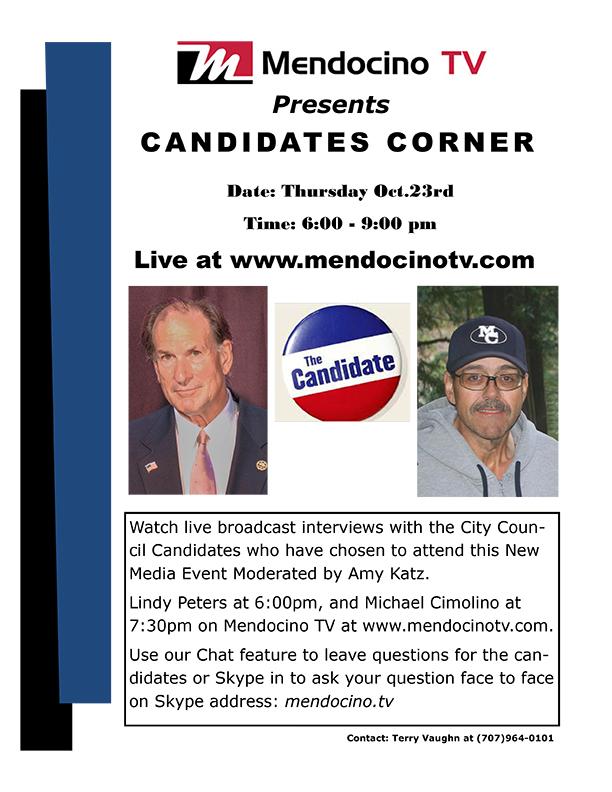 Candidates Corner flyer