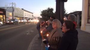 Candellight Vigil for Michael Brown