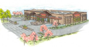 Hare Creek Center rendering