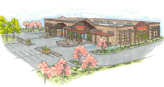 Hare Creek Center rendering
