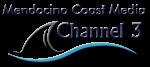 Mendocino Coast Media HQ Badge contoured